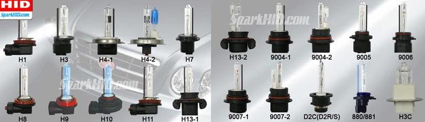 xenon bulbs models